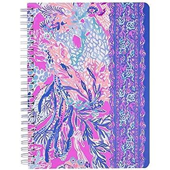 9e5ffd40519bf2 Amazon.com : Lilly Pulitzer Women's Mini Notebook (Aquadesiac ...