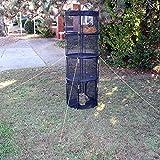 MD Group Cat Tower Outdoor Post Pop-up Assembly w/ Strong Fiberglass Poles Cat Playrun