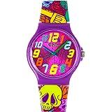 Teenie-Weenie Chic-Watches - Crâne - montres pour femmes et enfants avec bracelet en plastique - UC011