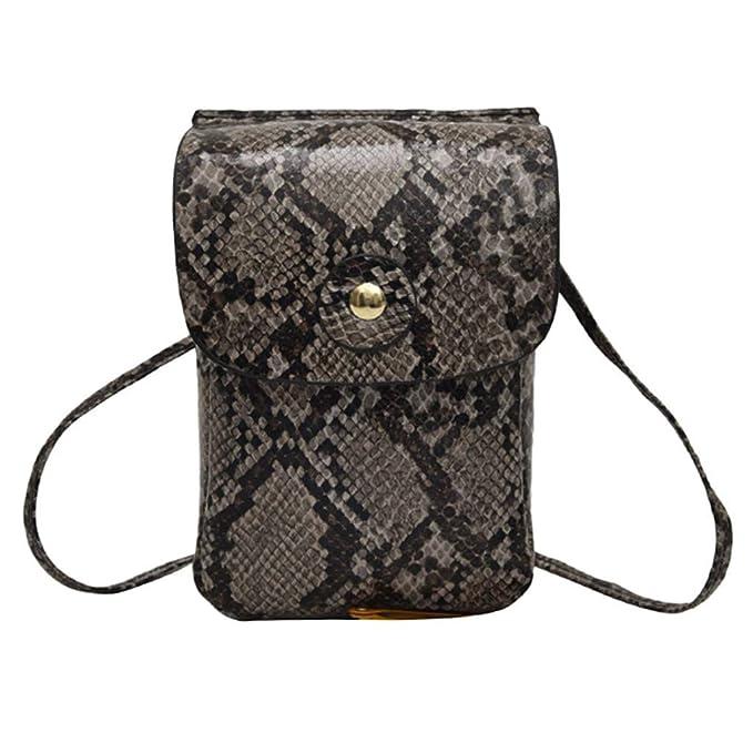 Amazon.com: Bolso bandolera para mujer, bolsa para teléfono ...