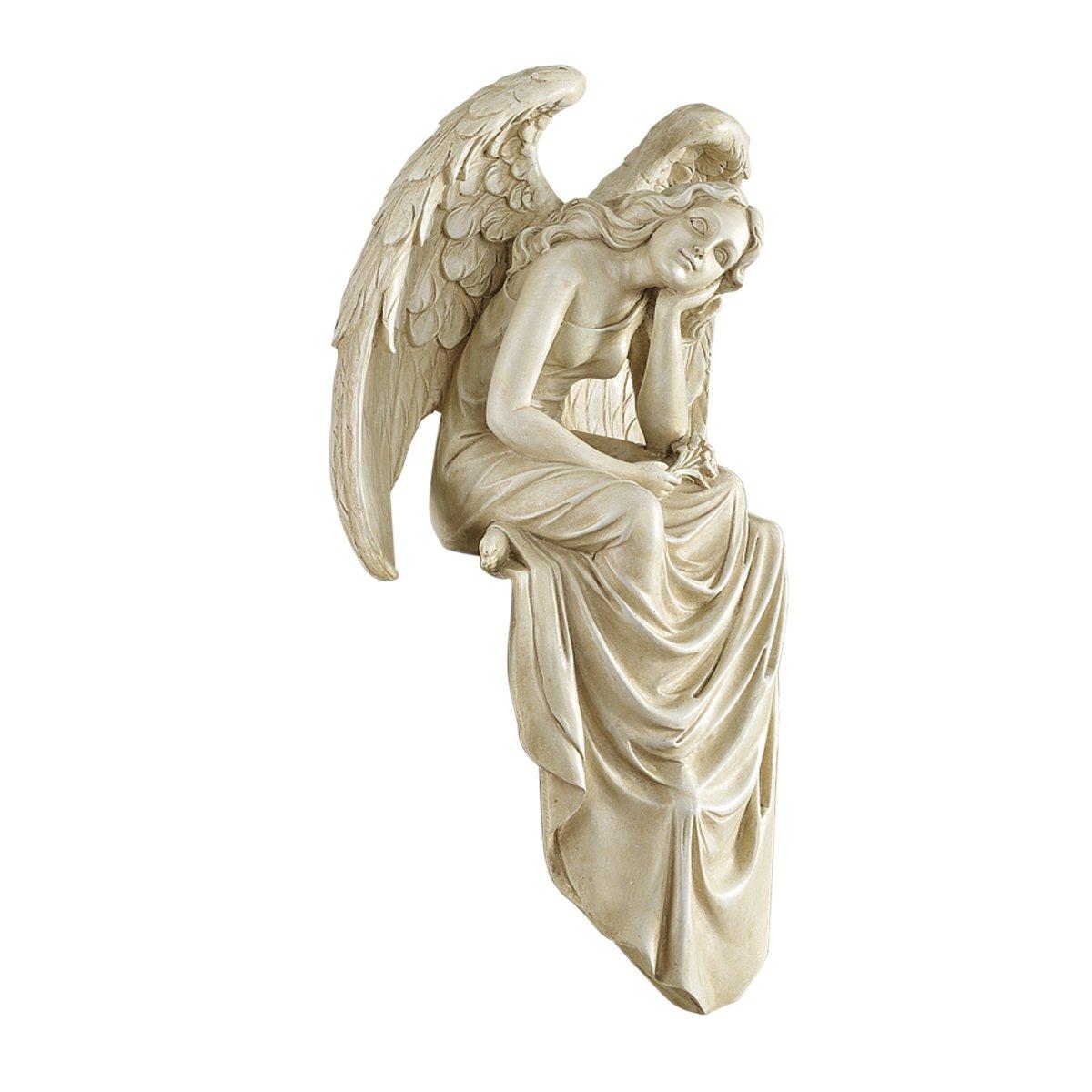Design Toscano Resting Grace Sitting Angel Statue - Medium NG34725