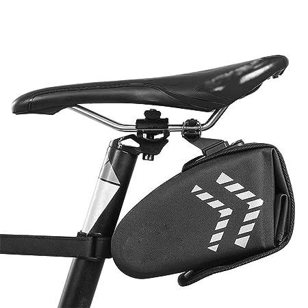 Bolsa de sillín de bicicleta Bolsa de almacenamiento de sillín de ...