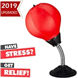 Keytas Desktop Punching Bag with Stand Boxing Bag for Kids Stress Buster Relief Ball Office Gifts Toys for Men and…