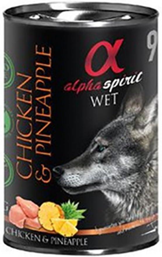 Alpha Spirit Canine Adult Pollo Piña Lata 400Gr 400 g