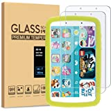 [2-Pack] PULEN Tempered Glass for Samsung Galaxy Tab A Kids Edition 8'' Screen Protector (2019),HD Clear No Bubble Anti-Finge