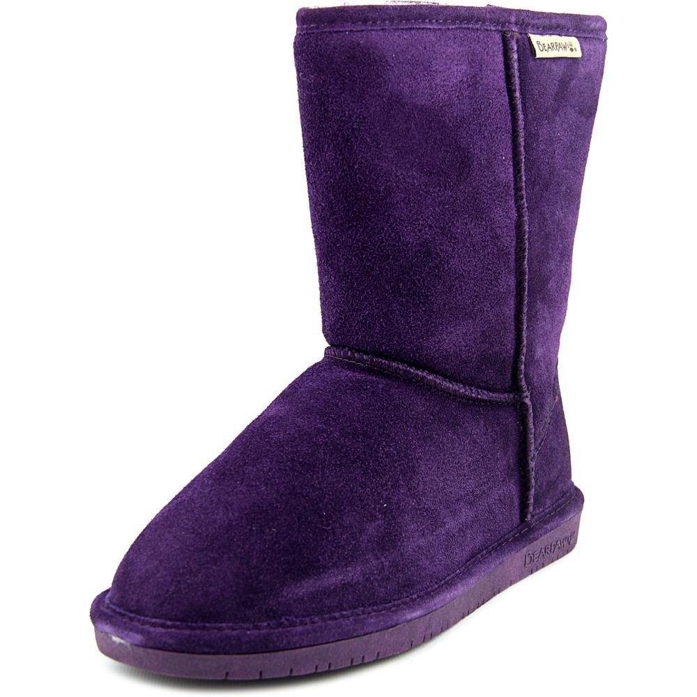 BEARPAW Women's Emma Short Snow Boot B00U9PONZ4 8 B(M) US|Deep Purple