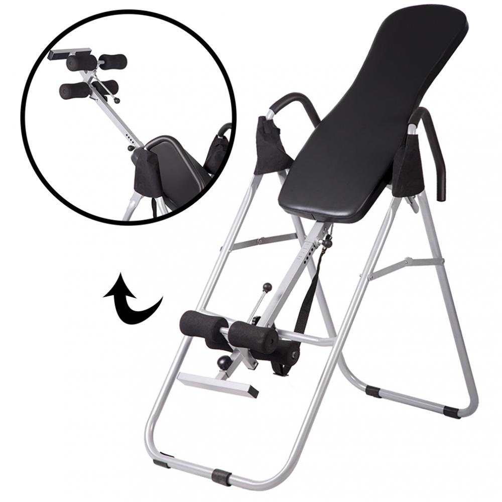 BMS Adjustable Folding Inversion Table Inversion Machine With Comfort Backrest Bestmassage