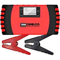 $57 » GOOLOO Upgraded Car Jump Starter 1000A Peak 18000mAh with USB Quick Charge (Up to 7.0L…