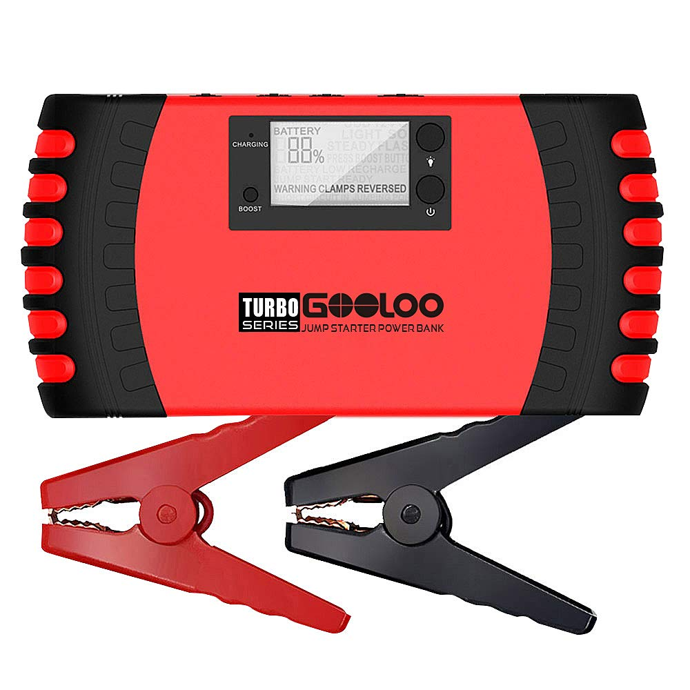 GOOLOO Upgraded Car Jump Starter 1000A