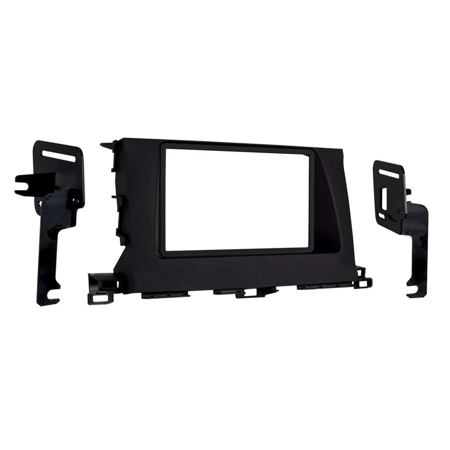 Black Metra 95-8248B Double DIN Dash Kit for Select 2014-Up Toyota Highlander Vehicles