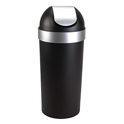 Amazon Com Umbra Venti 16 Gallon Swing Top Kitchen Trash Can