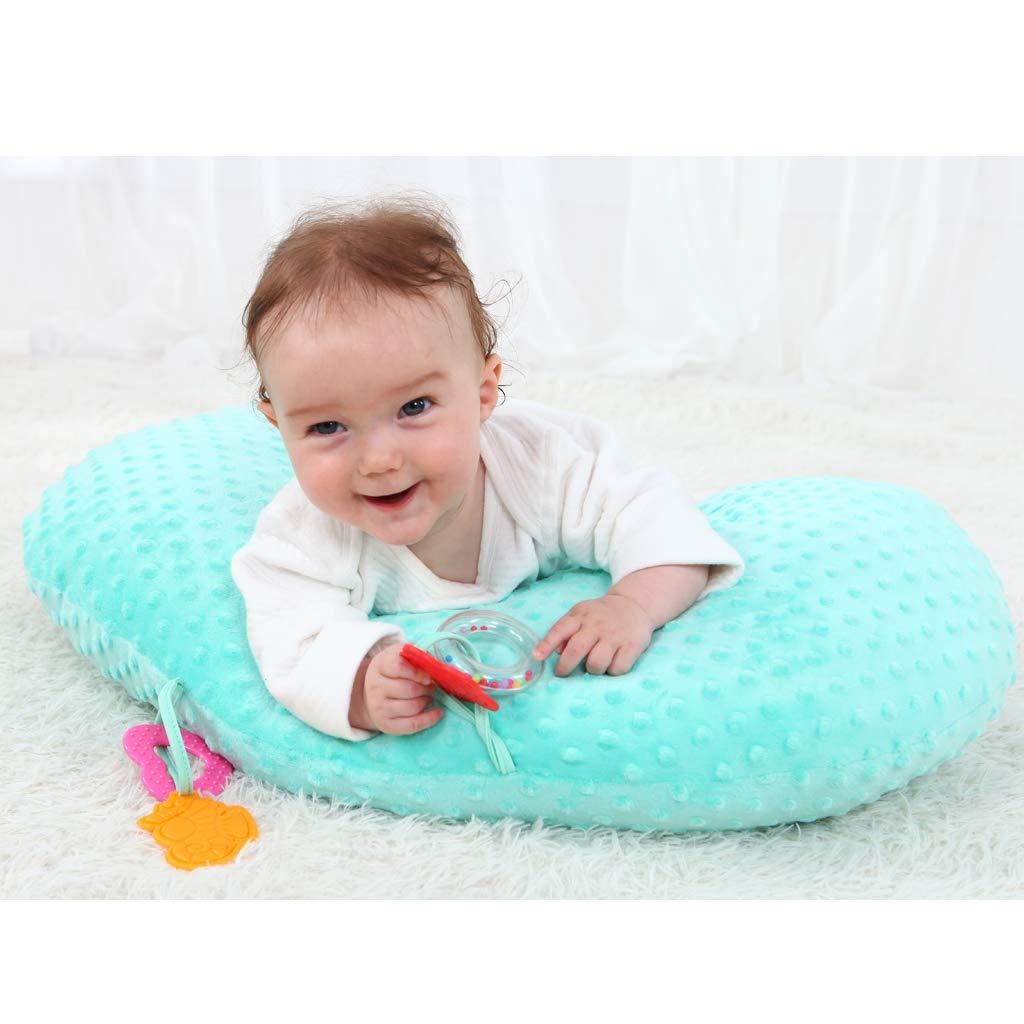 Amazon.com: Almohada de lactancia y almohada de cabeza plana ...