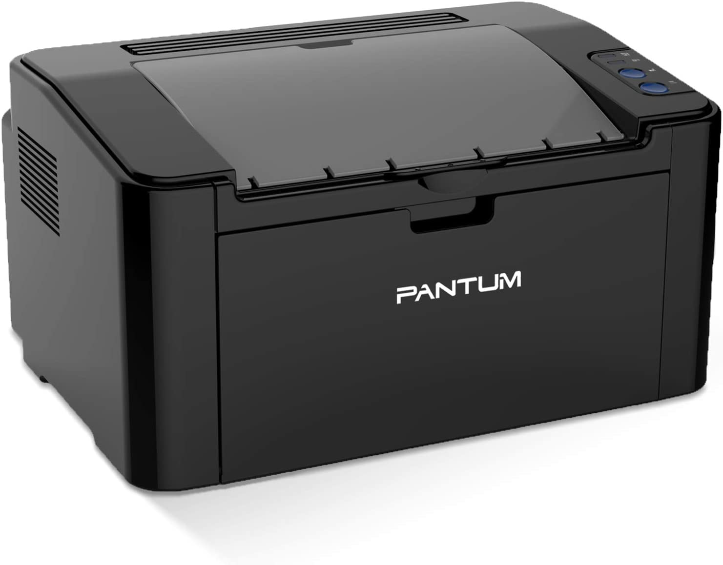 Pantum P2502W Monochrome Simple Small Stylish Design Laser Printer with Wireless Networking and Mobile Printing Convenient for School Home and Office