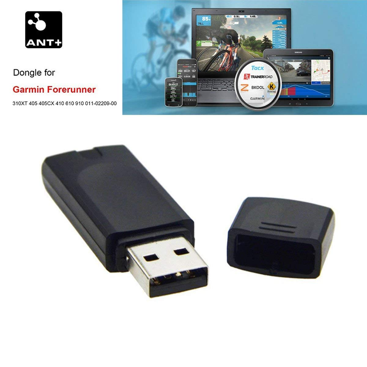 Mini USB ANT+ STICK FOR Garmin, Sunnto, Zwift, PerfPRO Studio, CycleOps Virtual Trainer, TrainerRoad Onlyesh