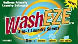 WashEZE Travel Friendly Laundry Detergent Soap