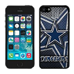 Dallas Cowboys(2) Black iPhone 5C Phone Case Genuine Custom Cover