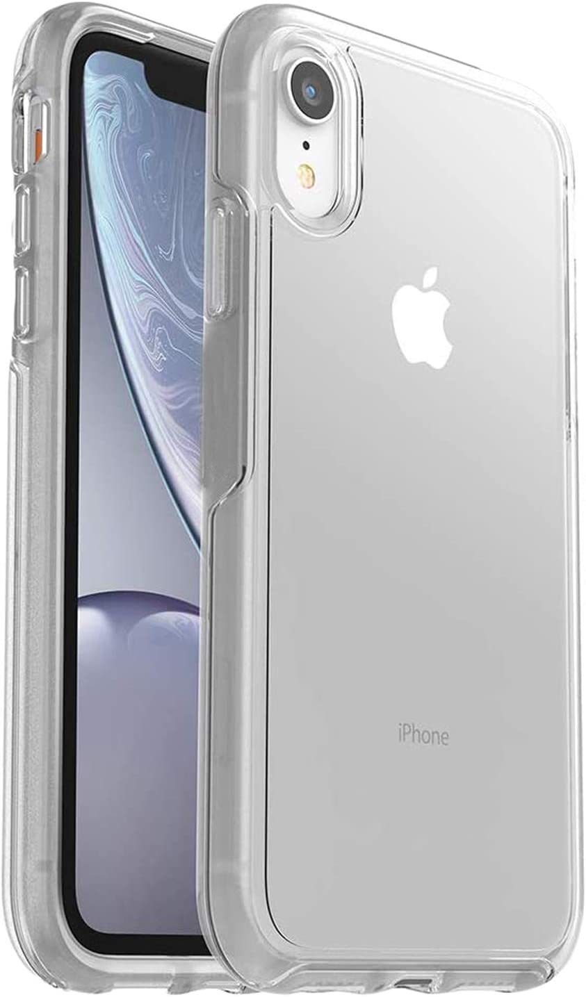 Phone Protective Case for iPhone XR, Symmetry Clear Series Case for iPhone XR, Clear Anti-Drop Shock Absorption Phone Cover for iPhone XR