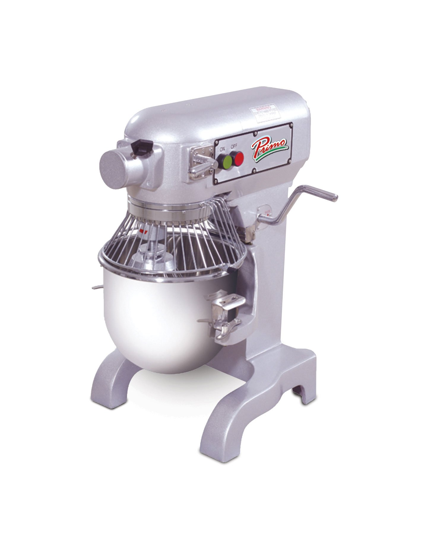 PRIMO PM-10 Stainless Steel Mixer, 10 quart Capacity, 13'' Width x 30'' Height x 15'' Depth by Primo