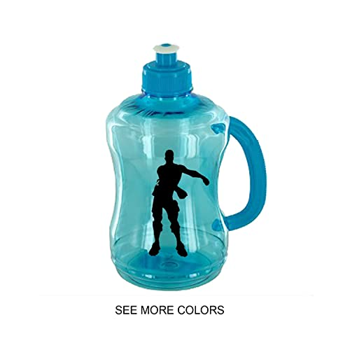 Amazon Com Dance Emote Fort Nite Inspired Kid S Water Bottle Hype