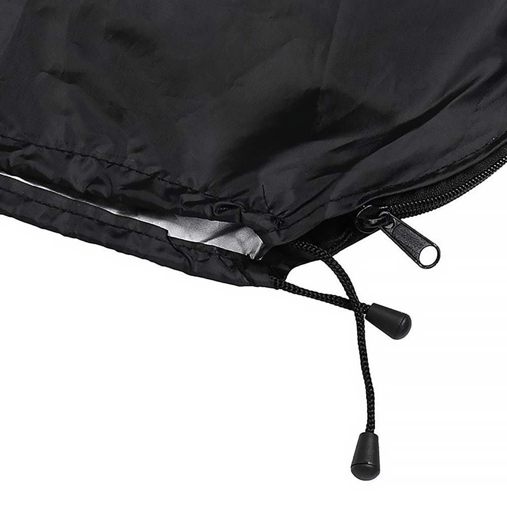 GEZICHTA ext/érieur Banane Parapluie Housse de Protection Parasol d/éport/é Sac Jardin imperm/éable /à la poussi/ère Fermeture /Éclair Parasol de terrasse Housse Sac de Rangement 50x70x40cm Show