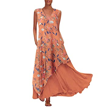 Raya Vestidos Largos Casual Verano De wave166 Vestido Mujer A4qc3jL5R