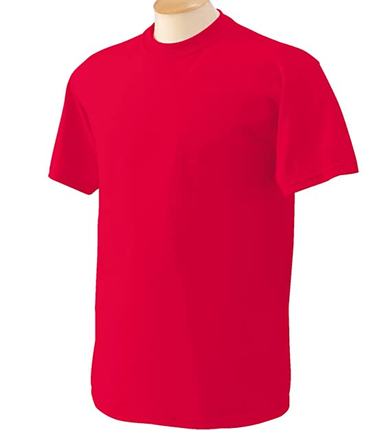 Gildan - Suave básica camiseta de manga corta para hombre - 100% algodón gordo RnXGigMNjF