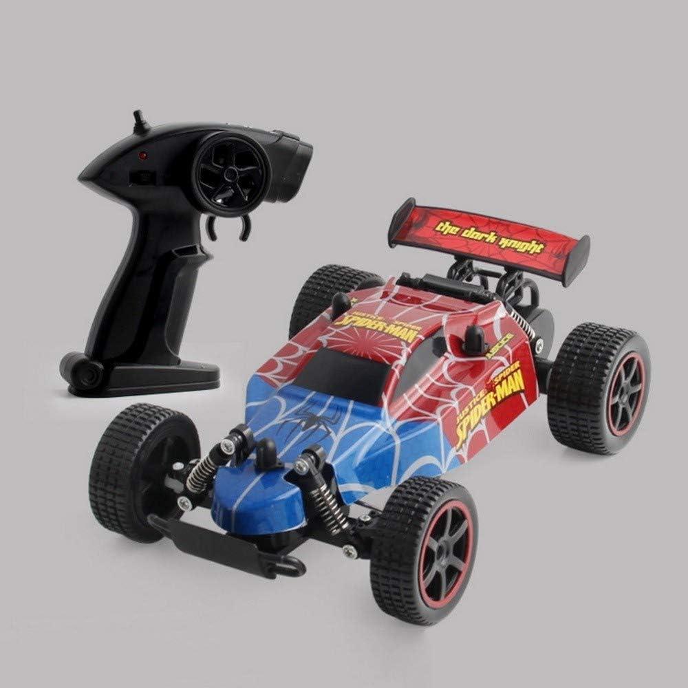 GRTVF Ferngesteuertes Auto Unbegrenztes Gel/ände RC-Car 2,4 GHz Hochgeschwindigkeits-Funkferngesteuertes Rennauto Vierkanal-Gel/ändewagen
