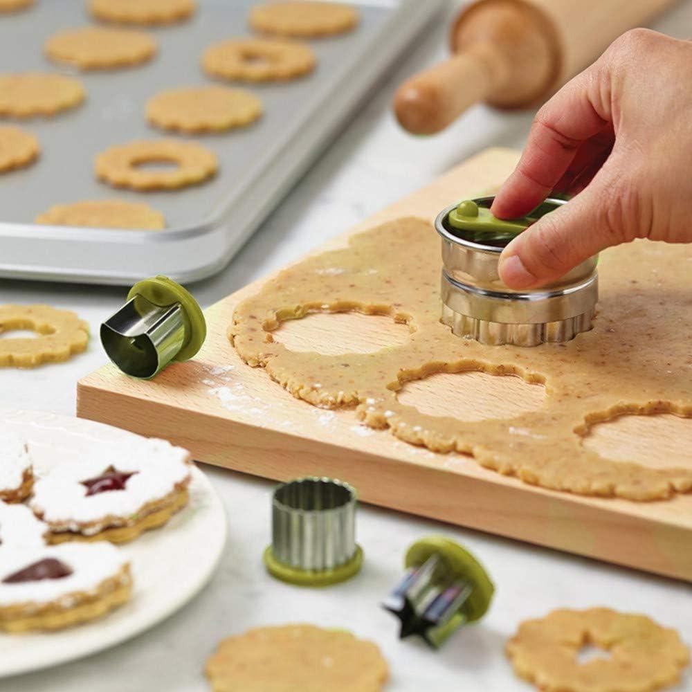 Linzer Cookie Cutter Round 4 cm Cookie Cutter spitzbub townspeople