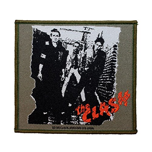 The Clash Eponymous Patch Album Cover UK Punk Rock Band Woven Sew On Applique by Mia_you