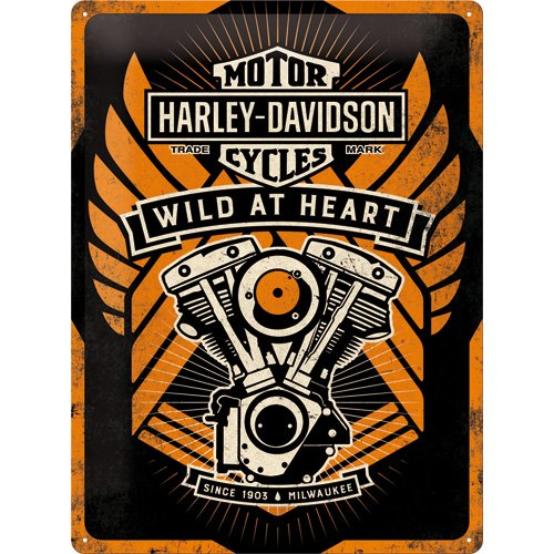 Nostalgic-Art 63310 de Harley Davidson Wild at Heart ...
