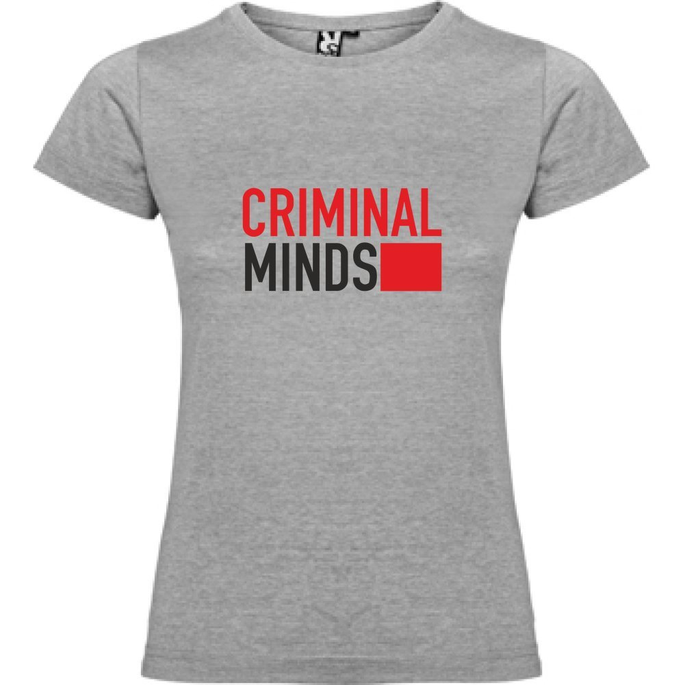 Bikerella T-Shirt Manica Corta Donna Criminal Minds by