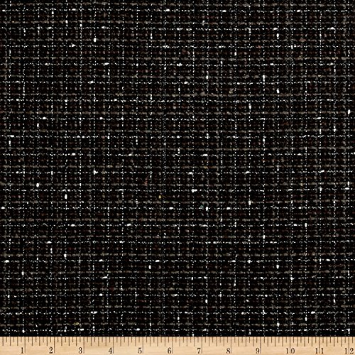 Tweed Suiting Black/Gray/Brown Fabric By The (Tweed Suiting)