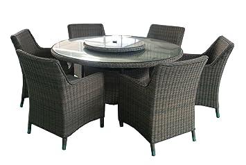 Al Fresco Living Sorrento - Juego de Mesa de Comedor y sillas de ...