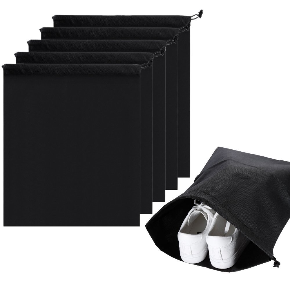 Portable Non Tiss/é Cordon Respirant Organisateur Lictin 6pcs Organisateur de Chaussures de Voyage Sacs de Rangement Sacs /à Chaussures de Voyage