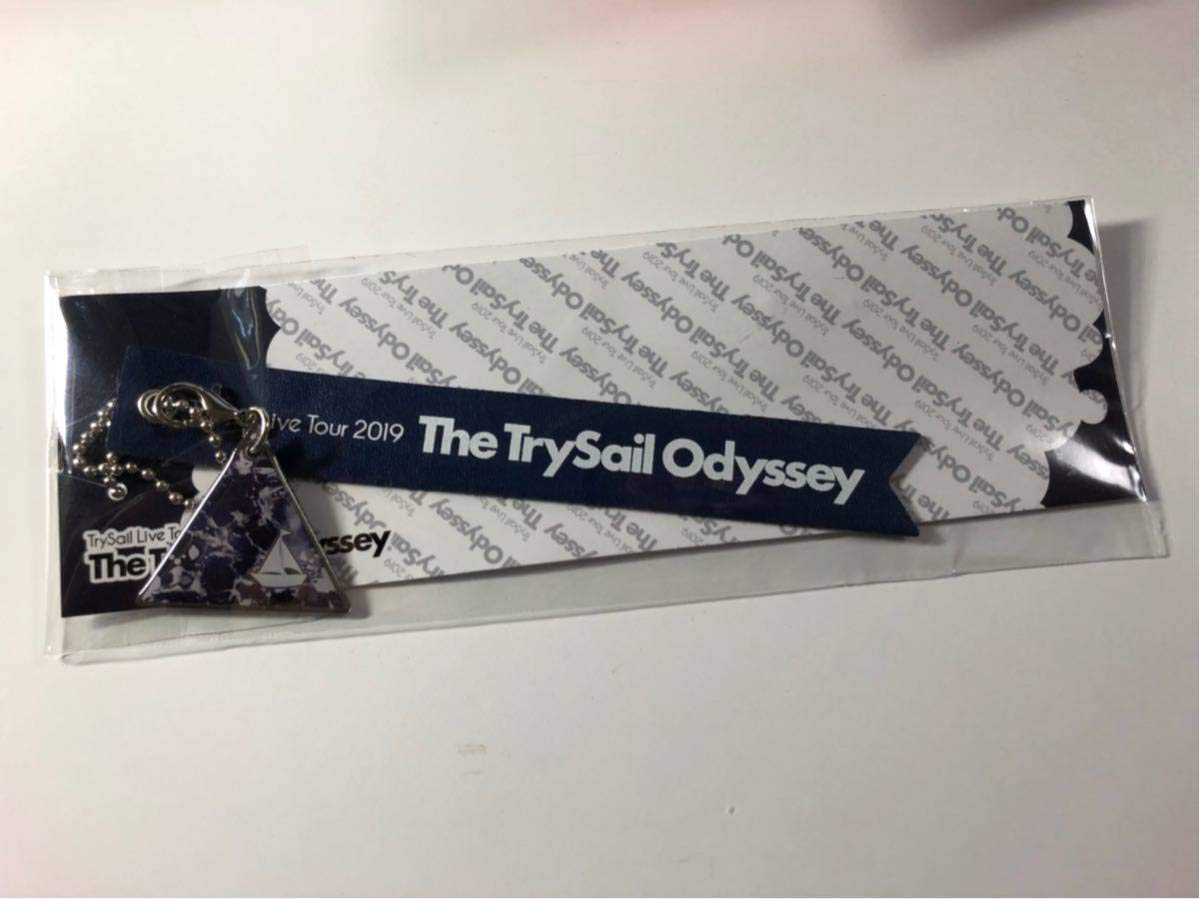 TrySail ライブツアー2019 The TrySail Odyssey ローソン Loppi HMV 事前販売限定 キーホルダー 雨宮天 夏川椎菜 麻倉もも 大阪   B07Q2X4M8C