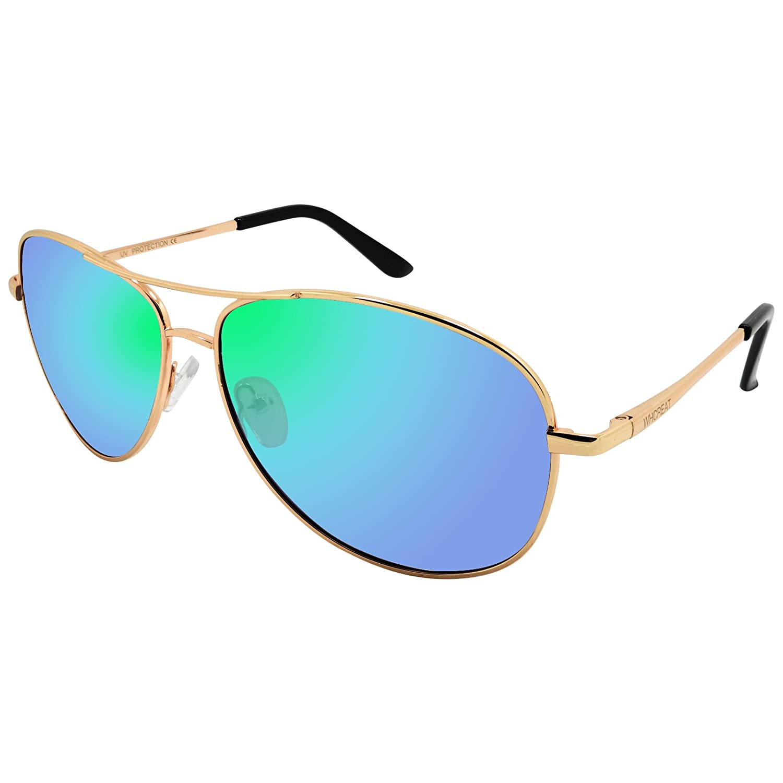 WHCREAT Herren Aviator Polarisierte Sonnenbrille UV 400 Schutz ...