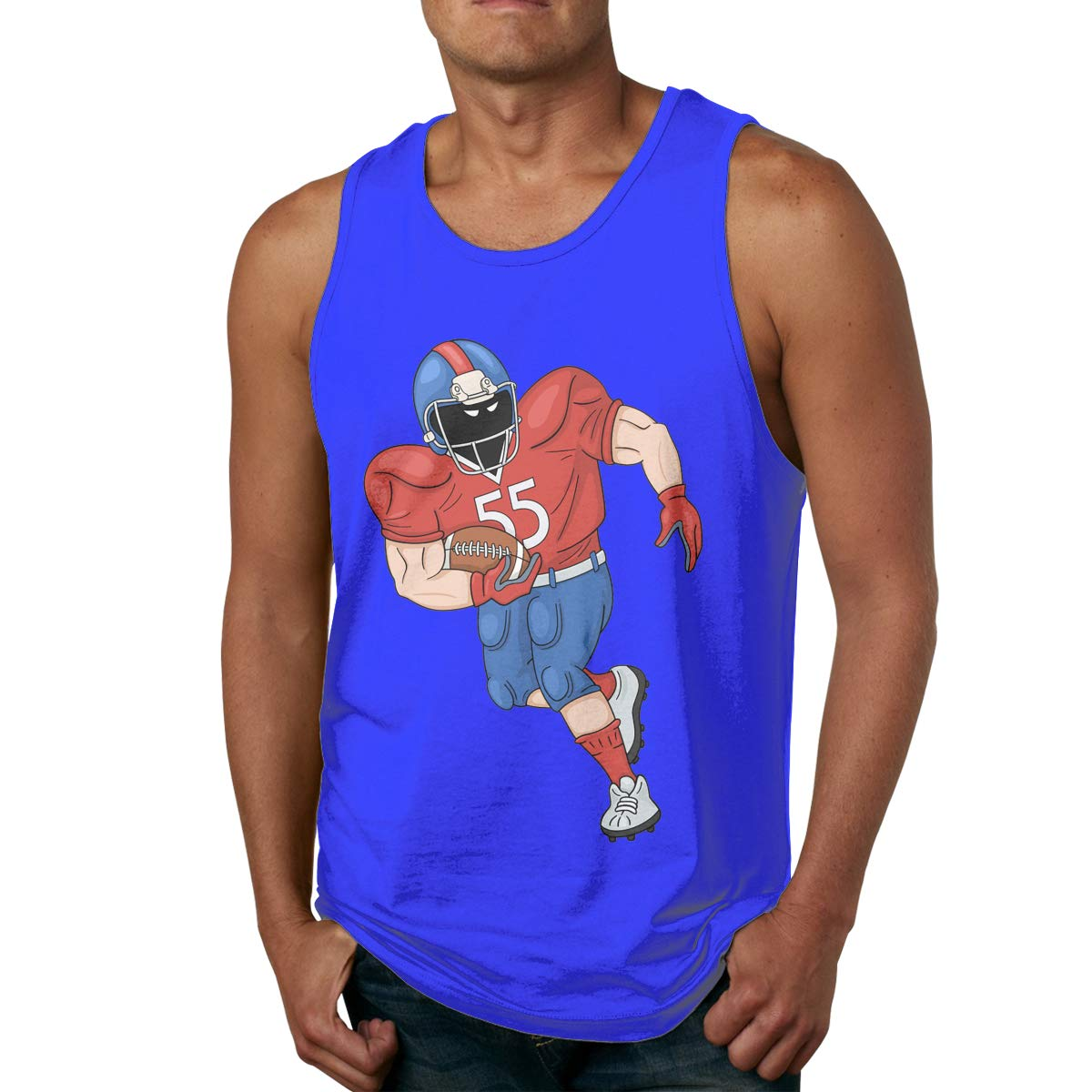 Huiliyuanshiye Custom Fashion American Football Training Tank Tops for Men