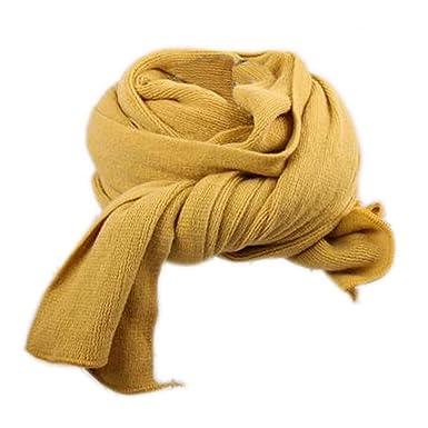 Dehang Écharpe longue tricoté Coton Unie Femmes Douce Chaude À la mode -  Kaki   Rouge   Jaune moutarde  Amazon.fr  Vêtements et accessoires ec110b4024f