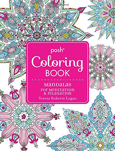 Posh Adult Coloring Book Meditation product image