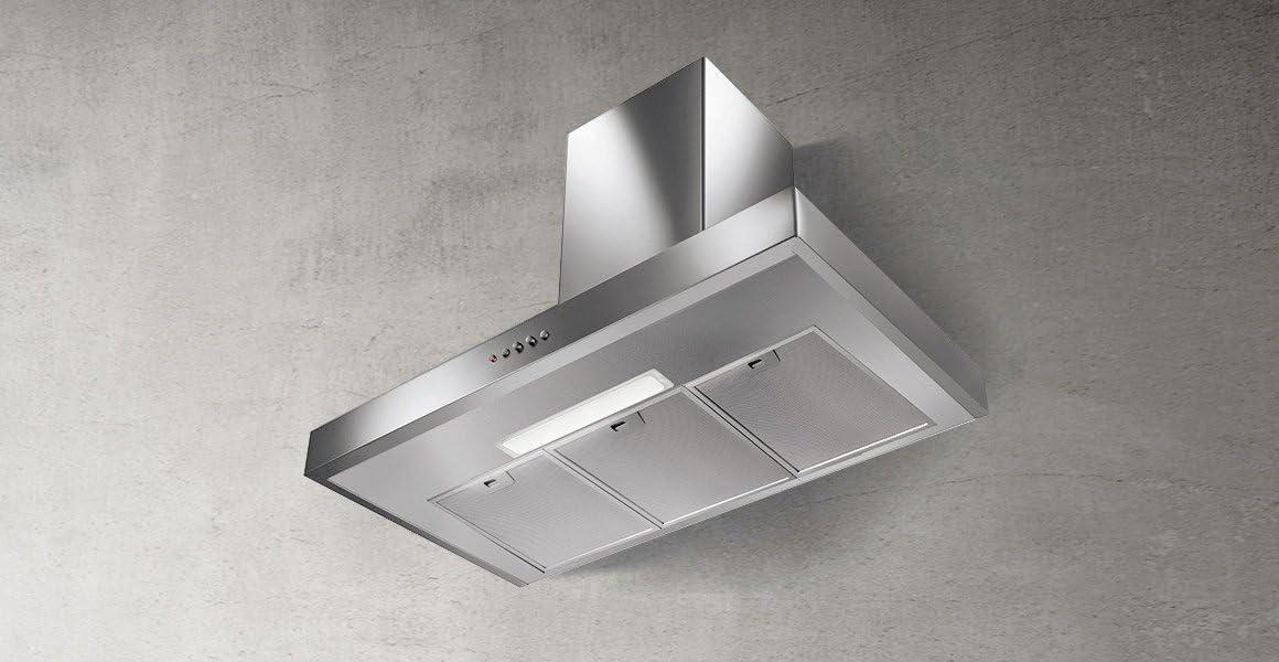 Faber GEMMA 900 mm acero inoxidable cocina campana: Amazon.es: Grandes electrodomésticos