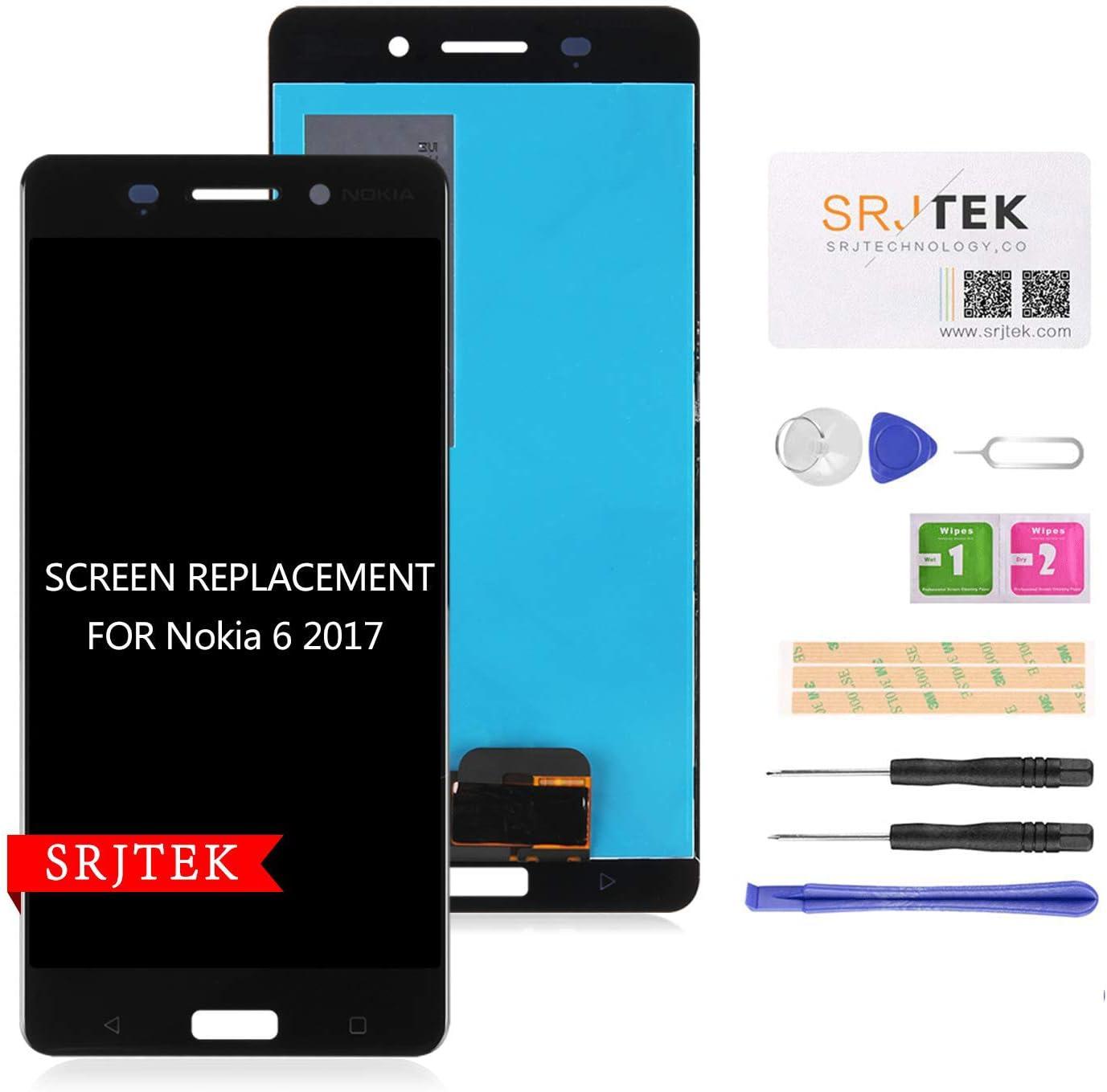 Para Nokia 6 2017 LCD para N6 TA-1000 TA-1003 TA-1033.......