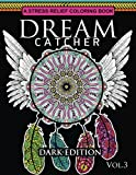 Dream Catcher Coloring Book Dark Edition