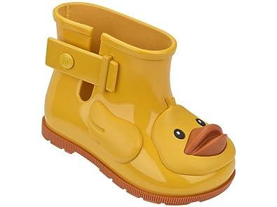 mini melissa little boys yellow duck rain boots 7 - Duck Rain Boots