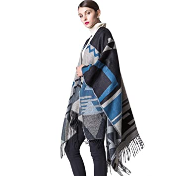Damen Maedchen Schals Herbst Winter lange weiche Schal Wraps grosse Umhang