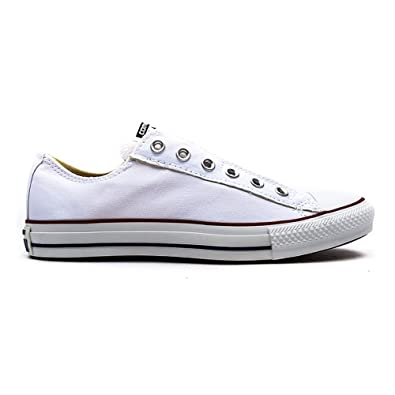 Converse All Star Slip Herren Sneaker Weiss Amazon De Schuhe