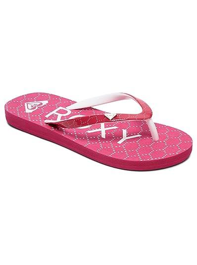 da5ceccd5dd03a Girls Roxy Pebbles VI Flip Flops - Pink