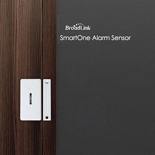 Broadlink Home inalámbrico puerta inteligente sensor de la ventana 433Mhz Seguridad en el hogar de control remoto por IOS Android: Amazon.es: Electrónica