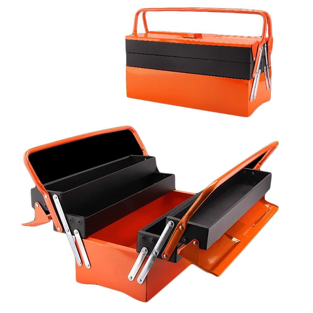 ツールボックス多機能鉄箱家庭用車分類収納ボックス (サイズ さいず : 49.5cm*20cm*23cm) B07Q4M647H  49.5cm*20cm*23cm