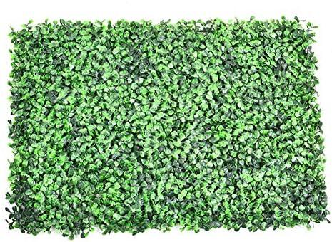 SNIIA Plantas Artificiales Pared Esteras para Setos Paneles De Vegetación De Imitación con Protección contra Rayos UV Tanto Decoración De La Planta De La Pared: Amazon.es: Hogar