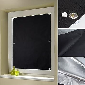Auralum Noir Store Fenêtre De Toit Maison Stores Rideaux D